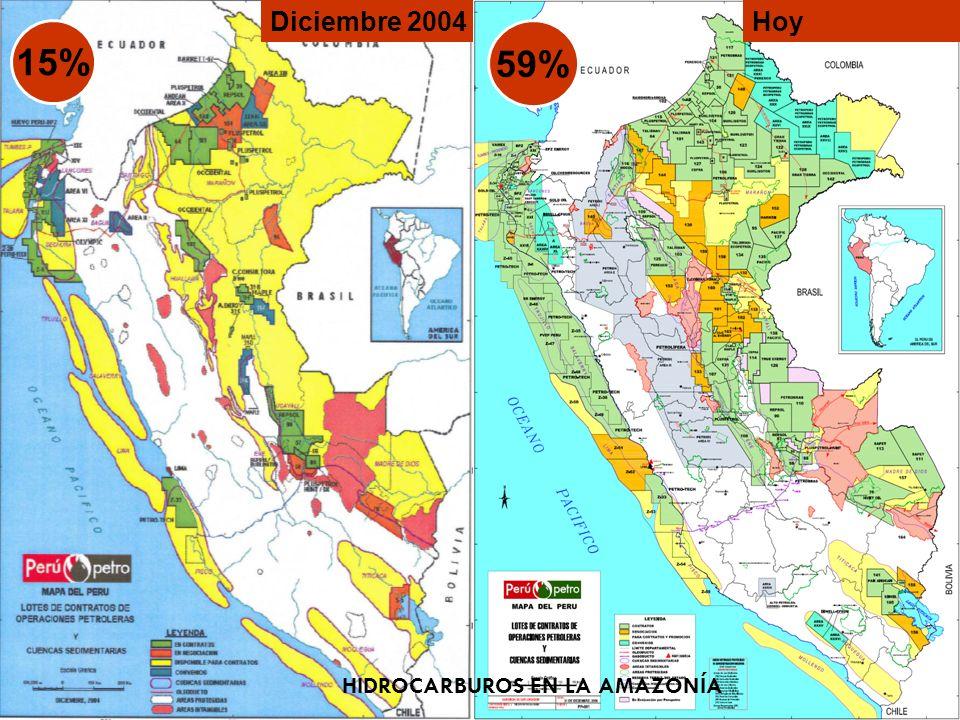Algunos Datos -Existen 15 Proyectos de Hidroeléctricas con potencial de exportación al Brasil ubicada en a Amazonia (MINEM 2007,2009) - DS ha señalado como de interés nacional la construcción de 20 centrales hidroeléctricas en el Río Marañón.