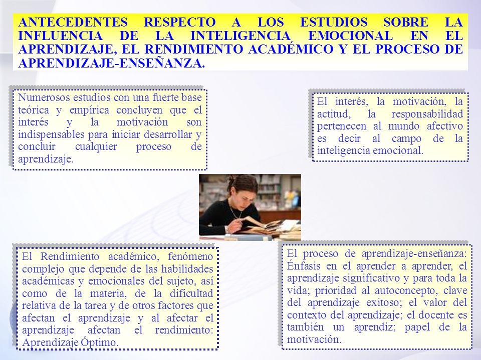 25 BASES CONCEPTUAL Y BIOLÓGICA DE LA INTELIGENCIA EMOCIONAL ANTECEDENTES HISTÓRICOS DE LA INTELIGENCIA EMOCIONAL.