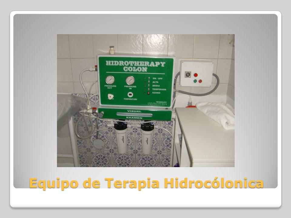 Equipo de Terapia Hidrocólonica