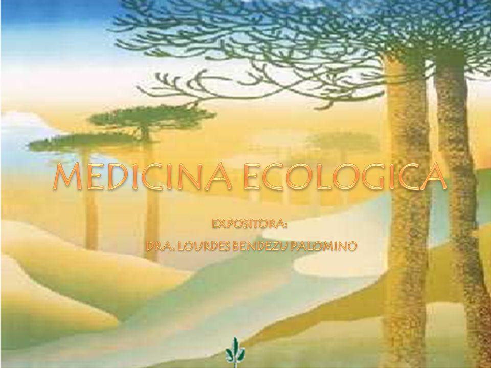 MEDICINA ECOLOGICA 2 Es la ciencia que estudia la funcionalidad de la vida (fisiología ) busca la verdad sin interferir el desenvolvimiento natural de la vida sin degradarla ni destruirla.