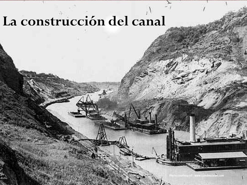 Photo courtesy of: www.canalmuseum.com La construcción del canal