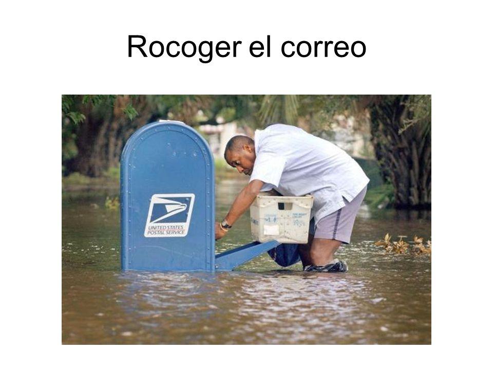 Rocoger el correo