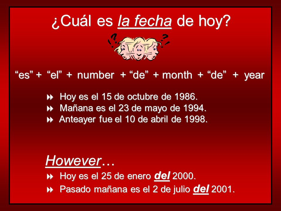Las estaciones y los meses… seasons and months are not capitalized articles are not used with months articles are used with seasons, except after en la primavera is the only feminine season watch spelling / pronunciation seasons and months are not capitalized articles are not used with months articles are used with seasons, except after en la primavera is the only feminine season watch spelling / pronunciation (seasons)(months)