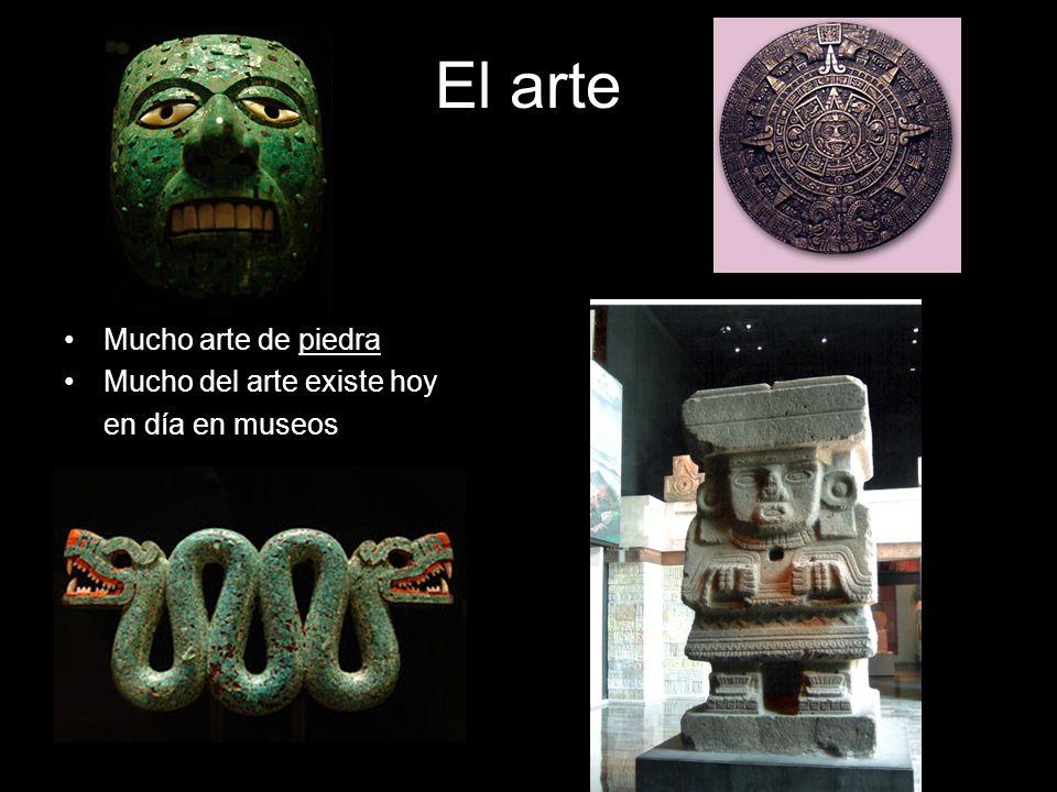 El arte Mucho arte de piedra Mucho del arte existe hoy en día en museos