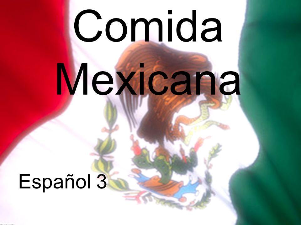 Comida Mexicana Español 3