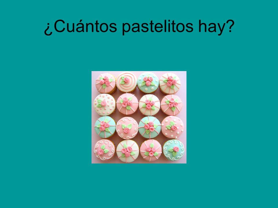 ¿Cuántos pastelitos hay?