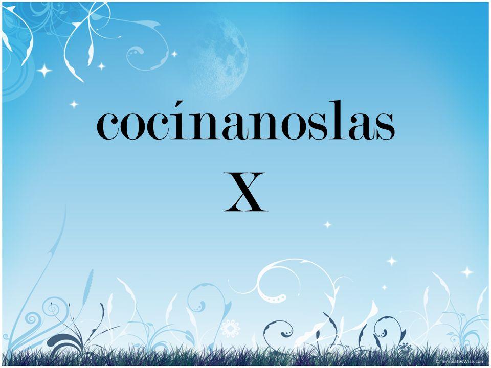 cocínanoslas X