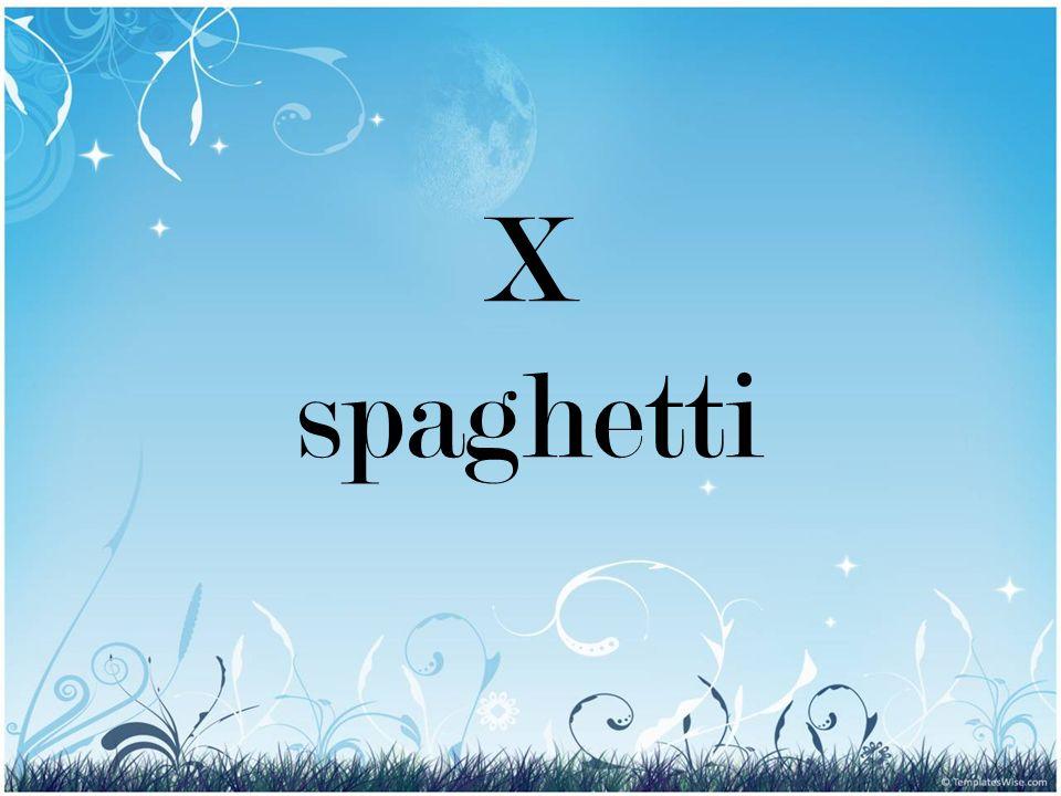 X spaghetti