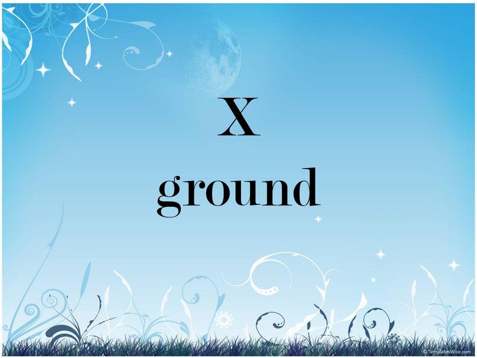 X ground