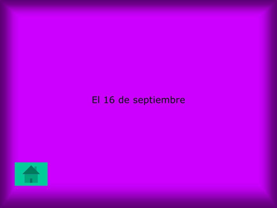 El 16 de septiembre