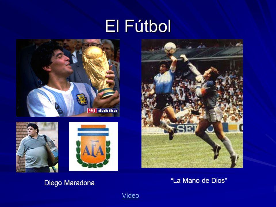 El Fútbol Diego Maradona La Mano de Dios Video
