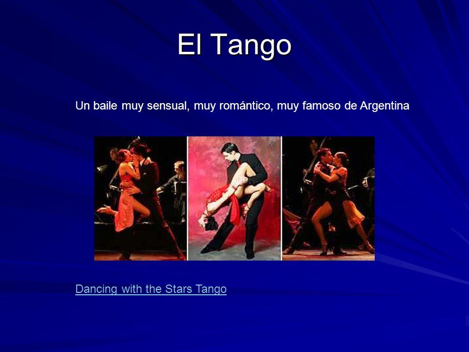 El Tango Un baile muy sensual, muy romántico, muy famoso de Argentina Dancing with the Stars Tango