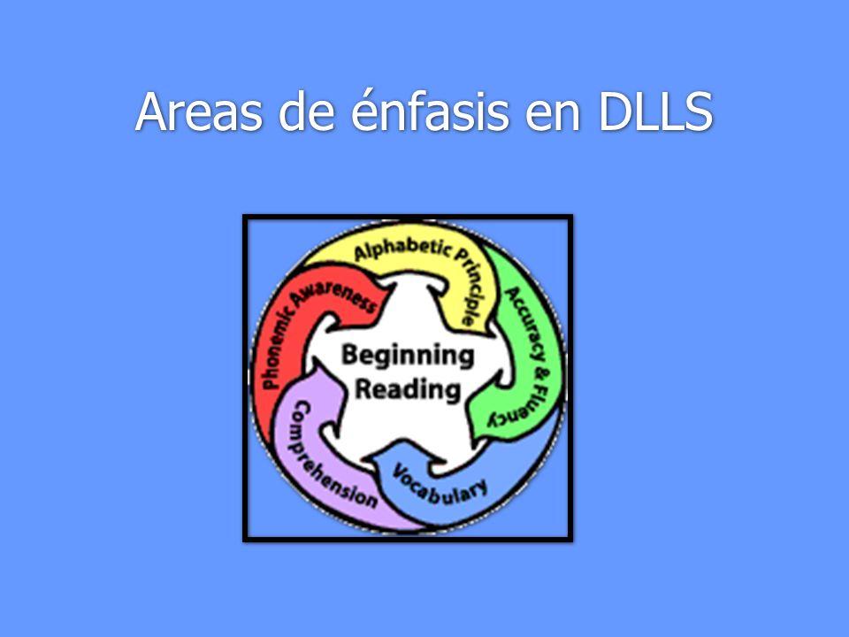 Areas de énfasis en DLLS