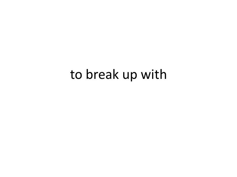 romper con