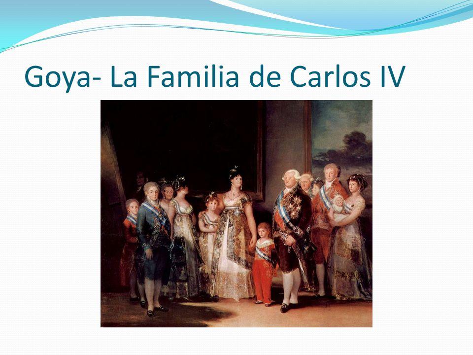 Goya Un par de obras famosas de Goya son Las majas.