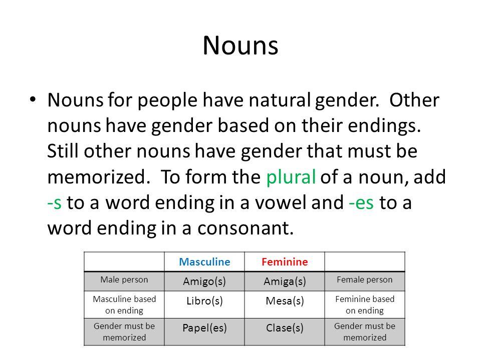 Subject Pronouns Pronouns take the place of a noun.