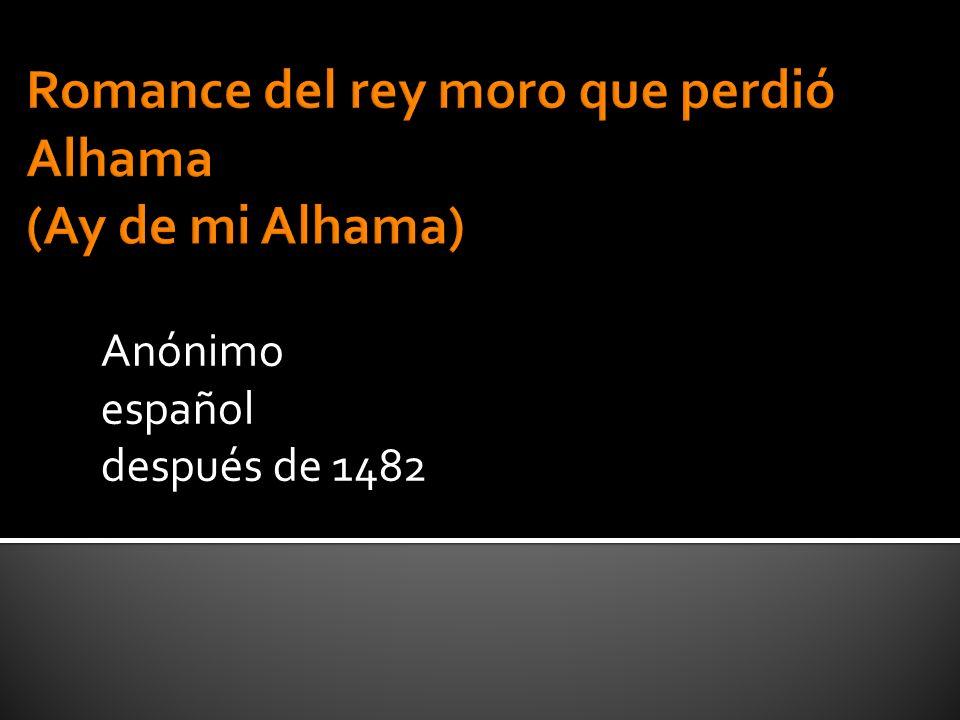 Anónimo español después de 1482