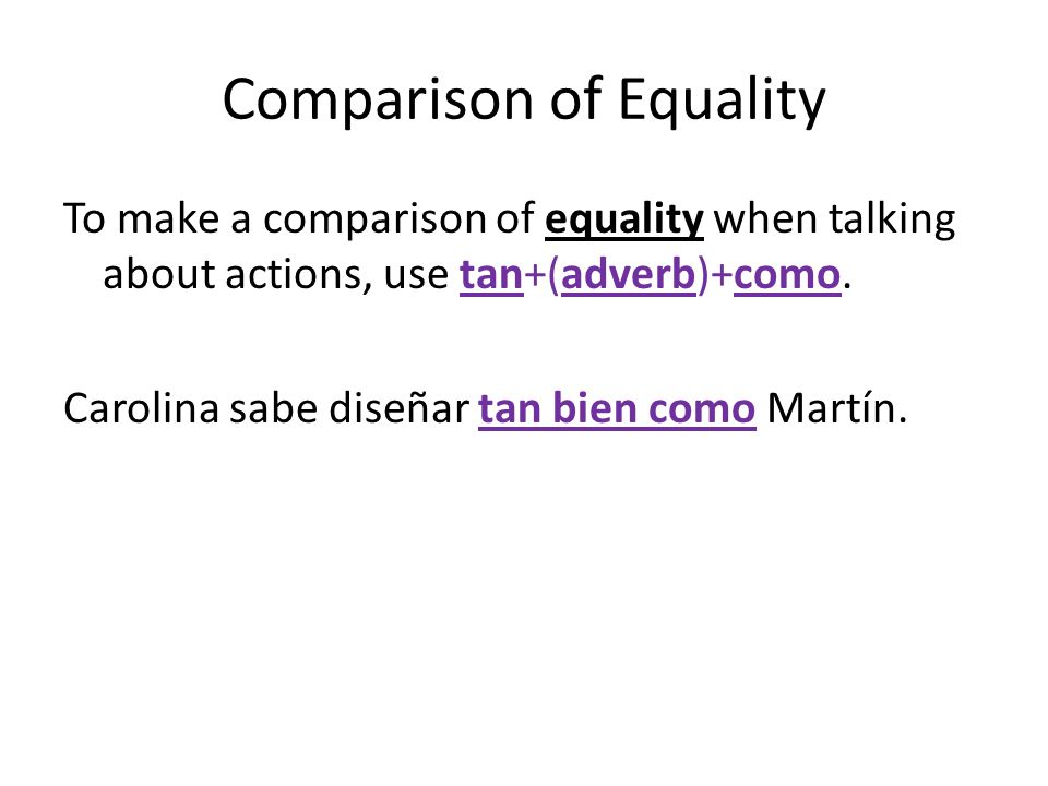 Superlative To talk about something or someone having the most or the least of a characteristic or quality (the superlatives), use the following formulas.