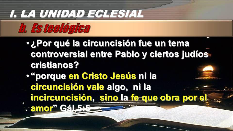 ¿Por qué la circuncisión fue un tema controversial entre Pablo y ciertos judíos cristianos?¿Por qué la circuncisión fue un tema controversial entre Pa