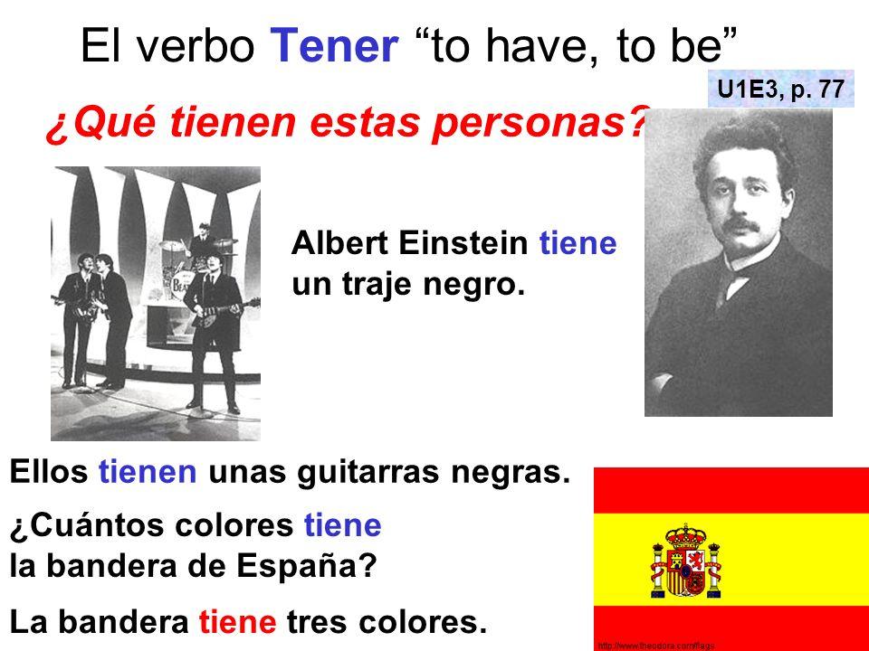El verbo Tener to have, to be ¿Cuántos años tiene la chica en estas fotos.