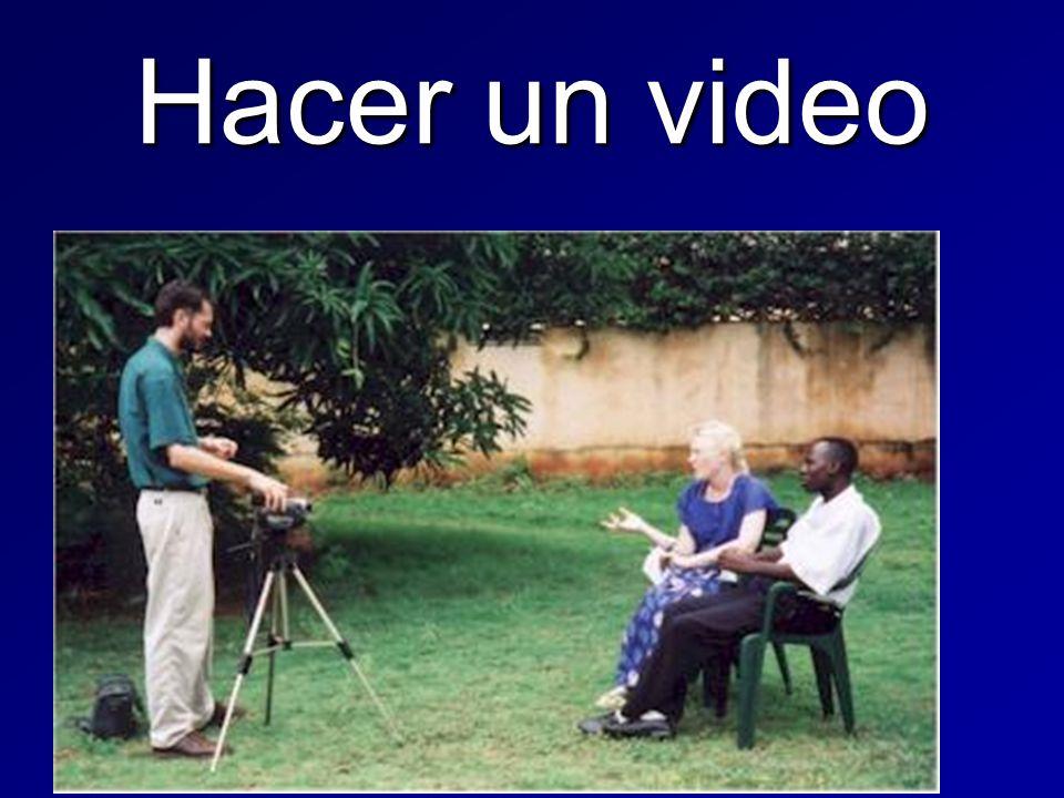 Hacer un video