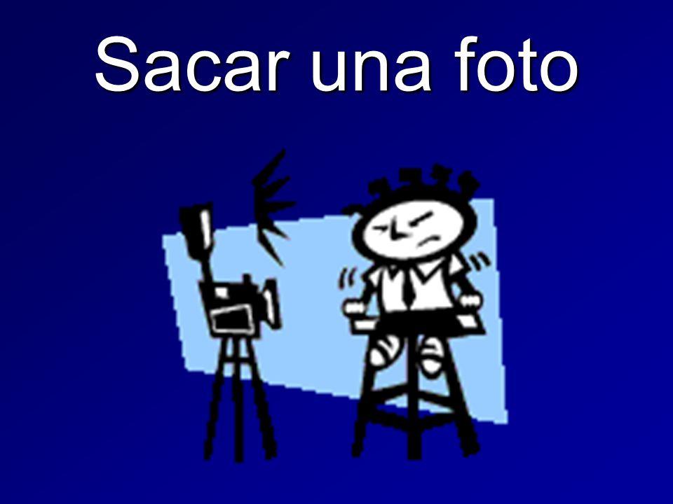 Sacar una foto
