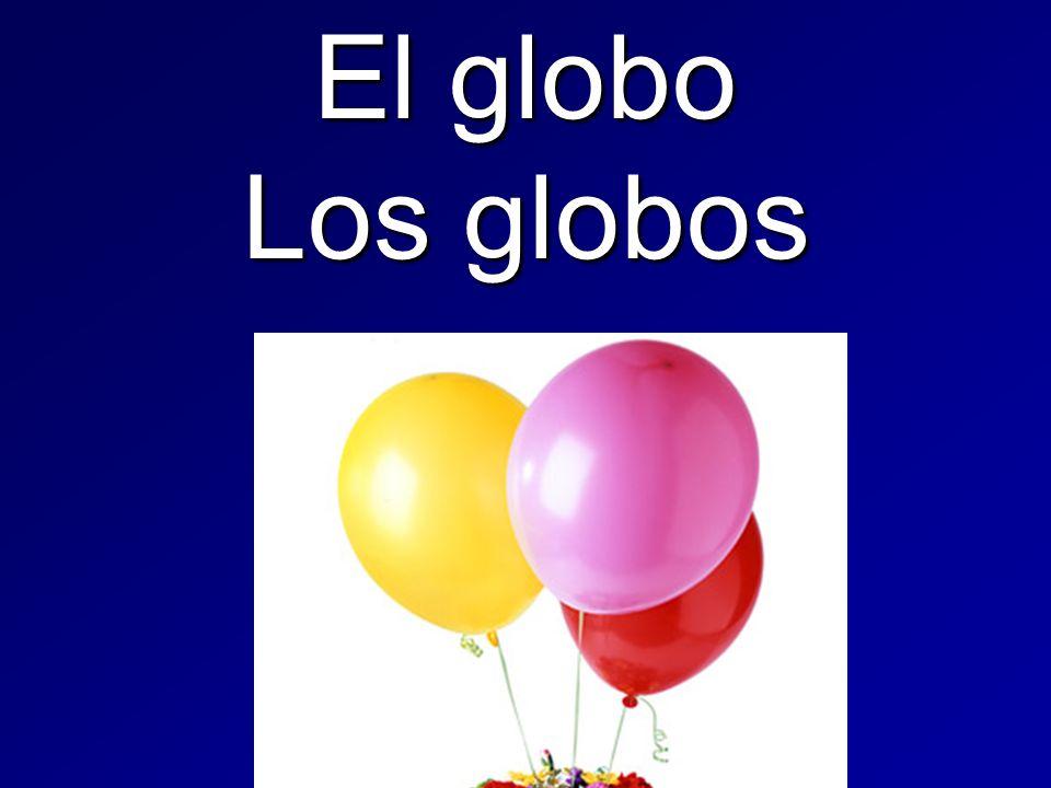 El globo Los globos
