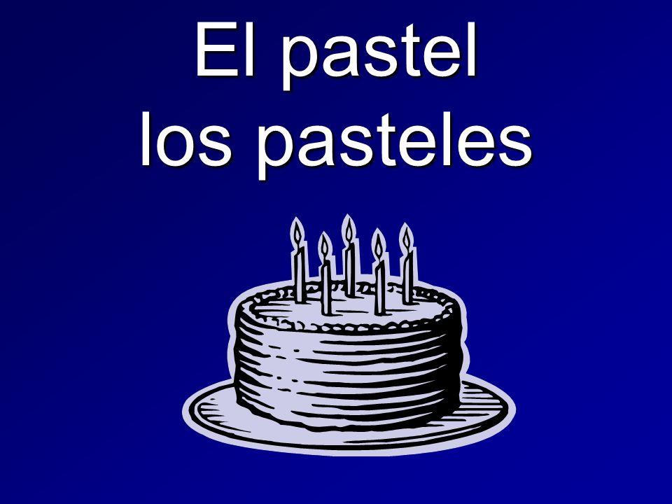 El pastel los pasteles