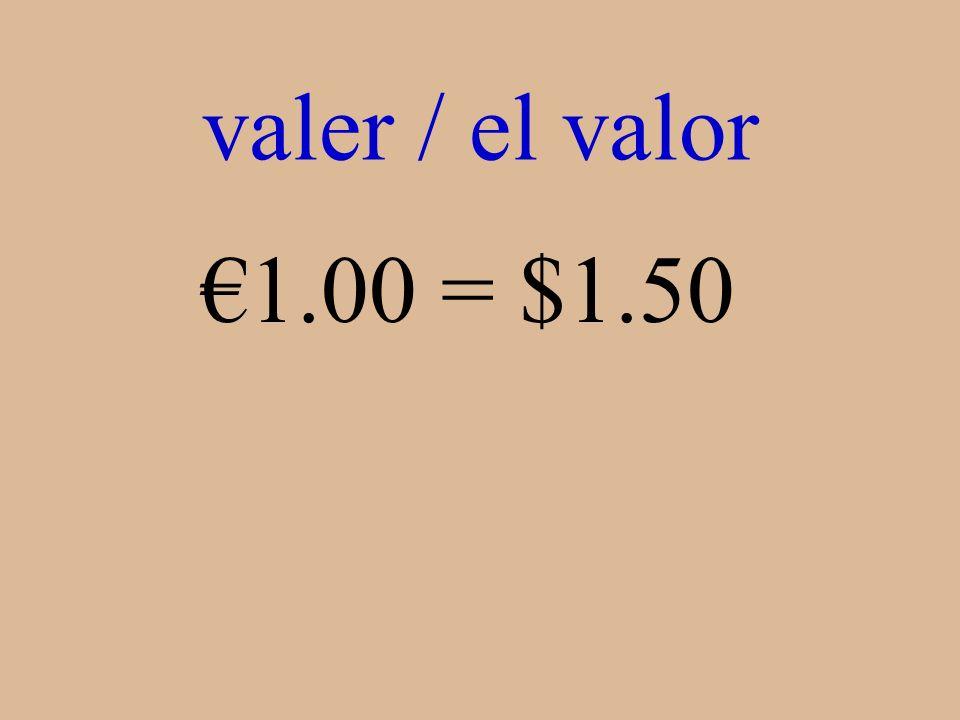 ¿Qué es 1.00 = $1.50
