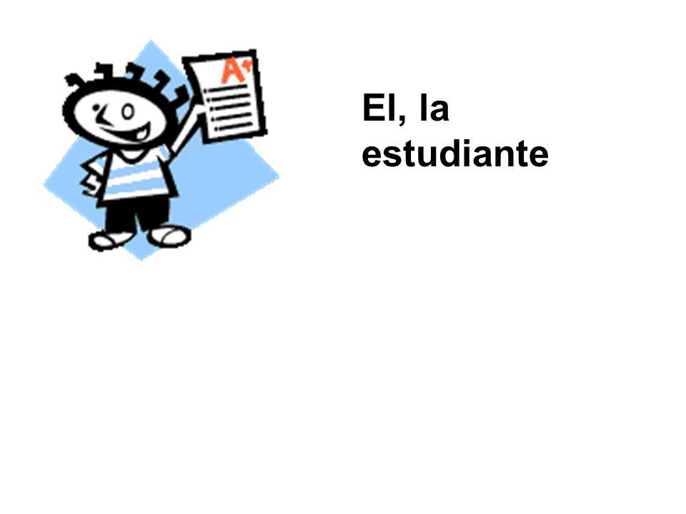 El, la estudiante