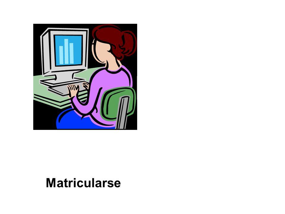 Matricularse