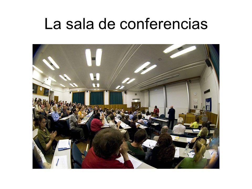 La sala de conferencias
