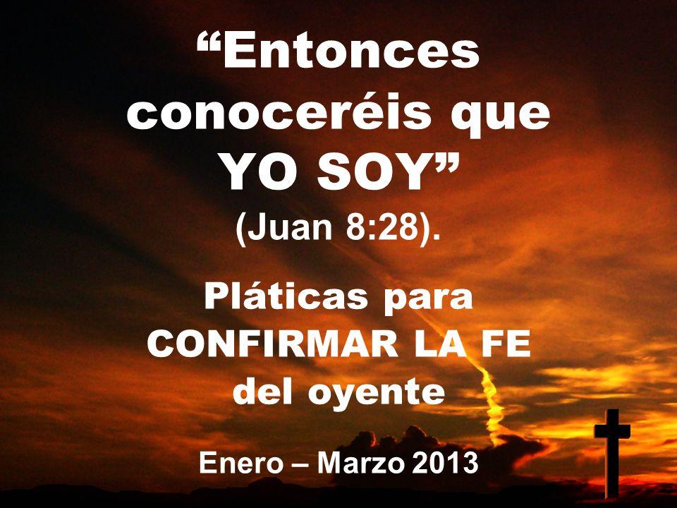INTRODUCCIÓN Este trimestre nos ocupará la frase YO SOY usada en el Evangelio según San Juan.