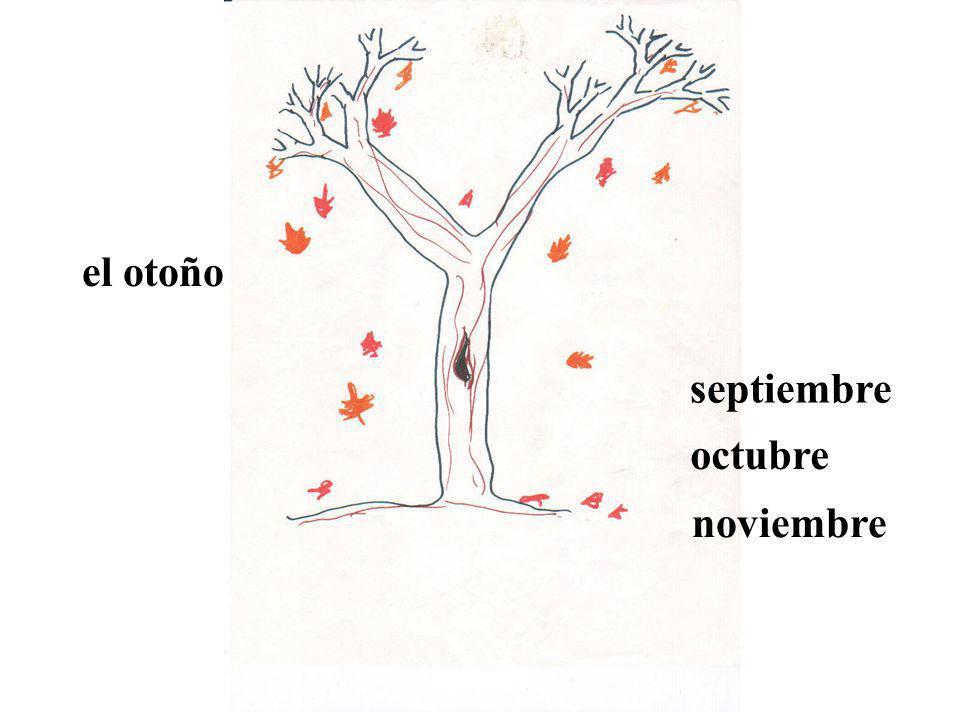 el otoño septiembre octubre noviembre