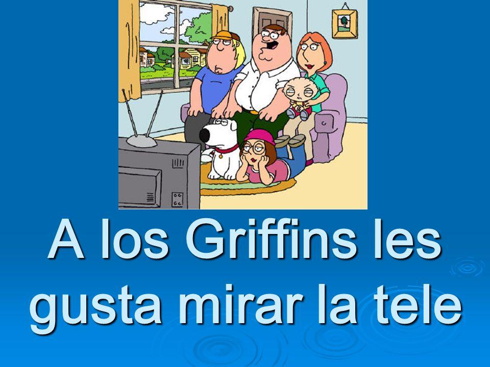 A los Griffins les gusta mirar la tele