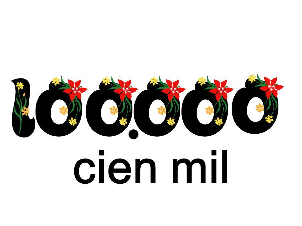 cien mil