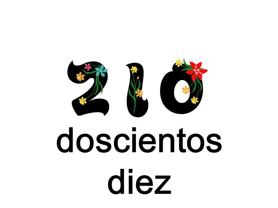 doscientos diez