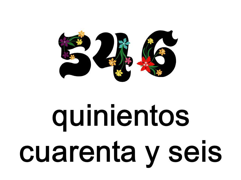 quinientos cuarenta y seis