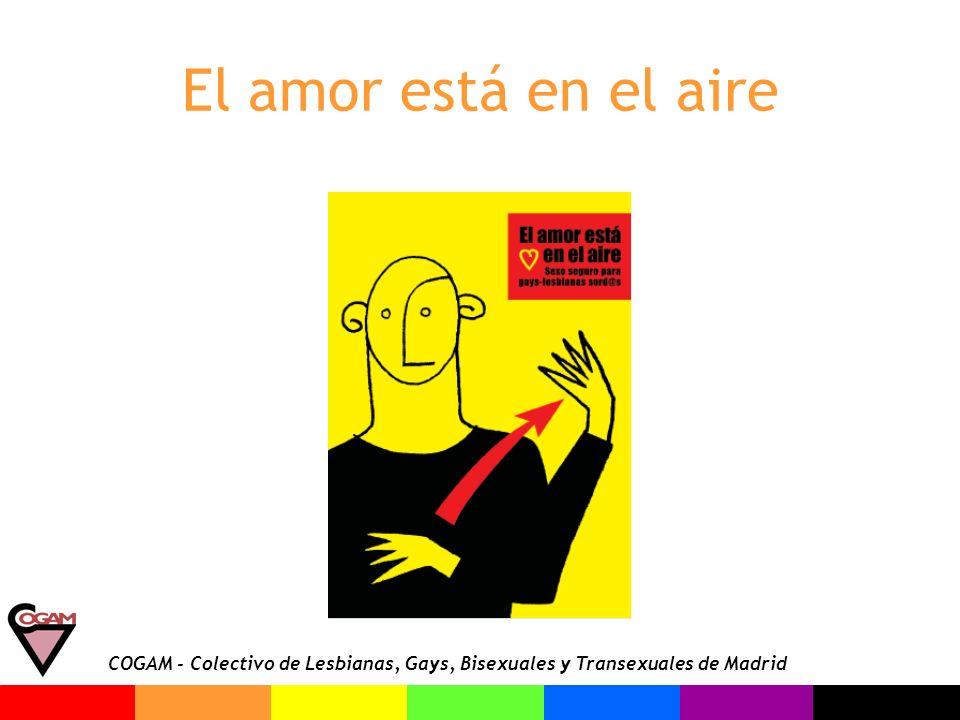 COGAM - Colectivo de Lesbianas, Gays, Bisexuales y Transexuales de Madrid El amor está en el aire