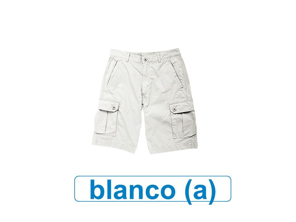 blanco (a)