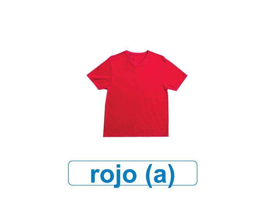 rojo (a)