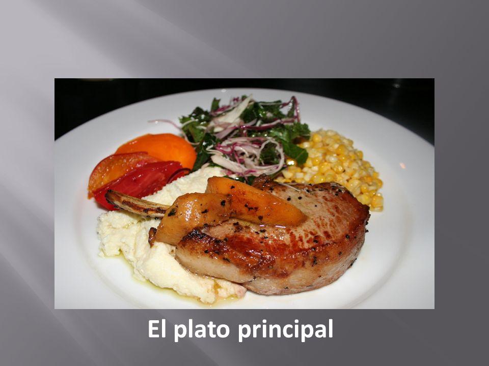 El plato principal