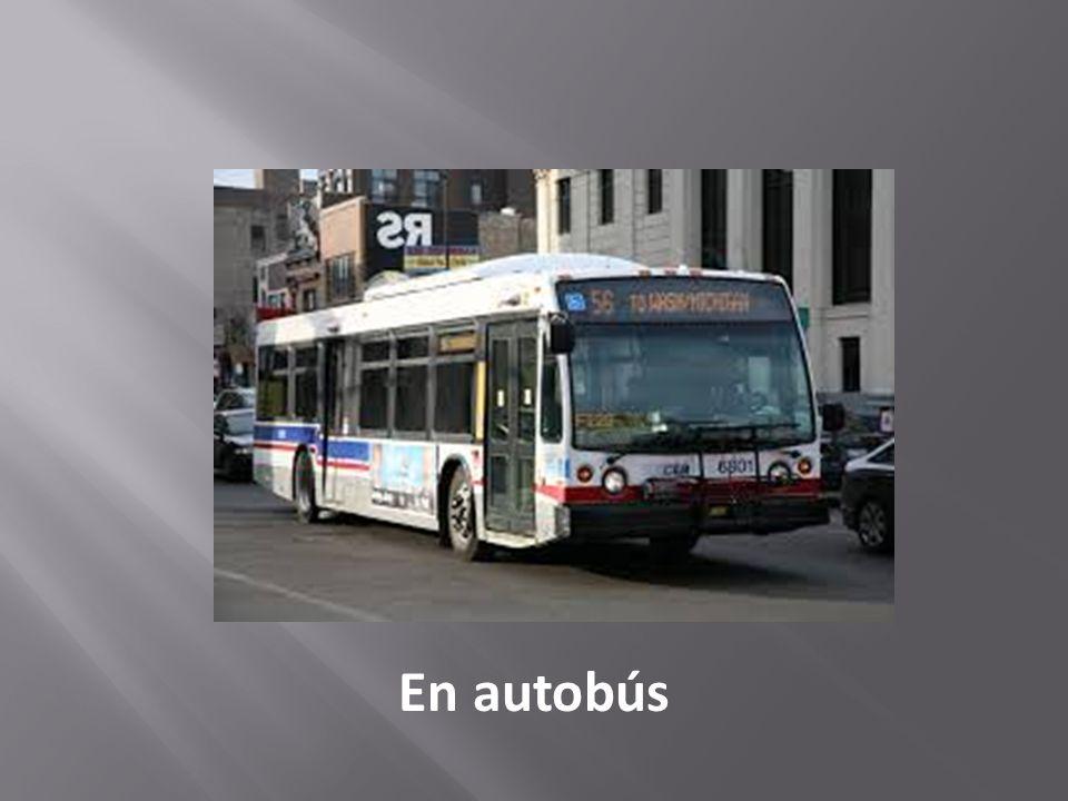 En autobús