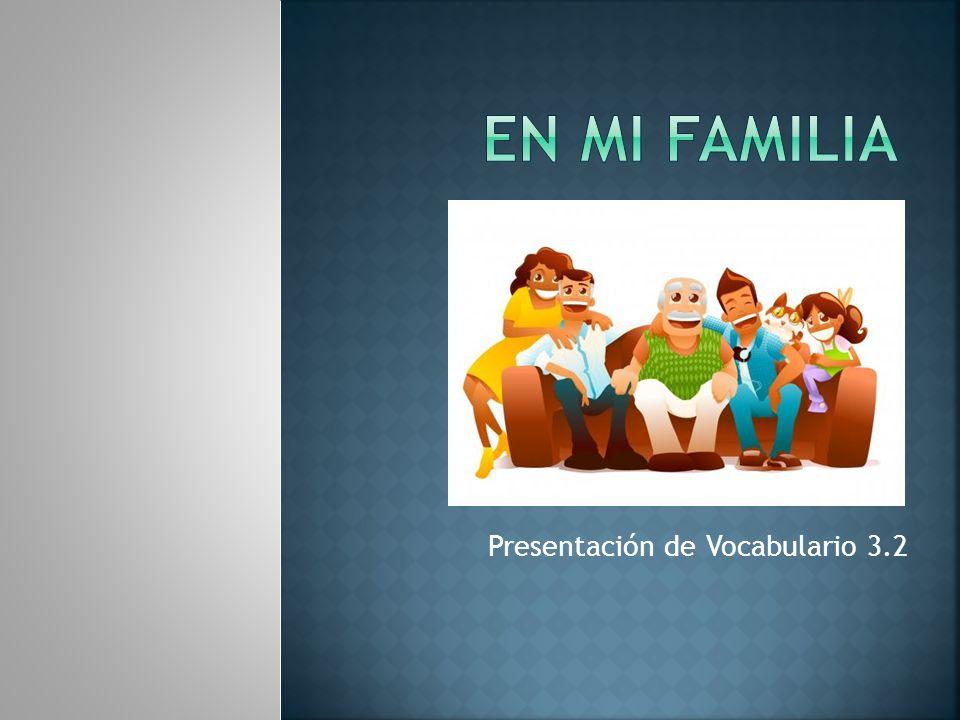 Presentación de Vocabulario 3.2