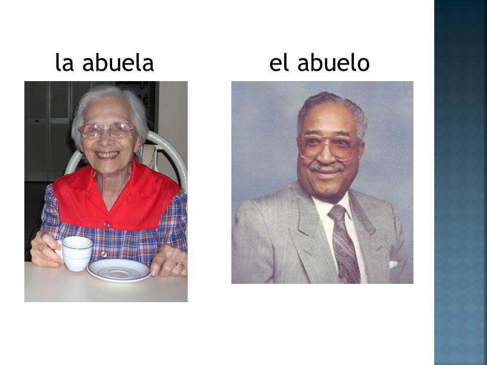 la abuela el abuelo