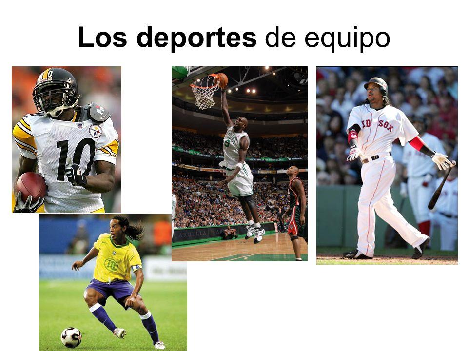 Los deportes de equipo