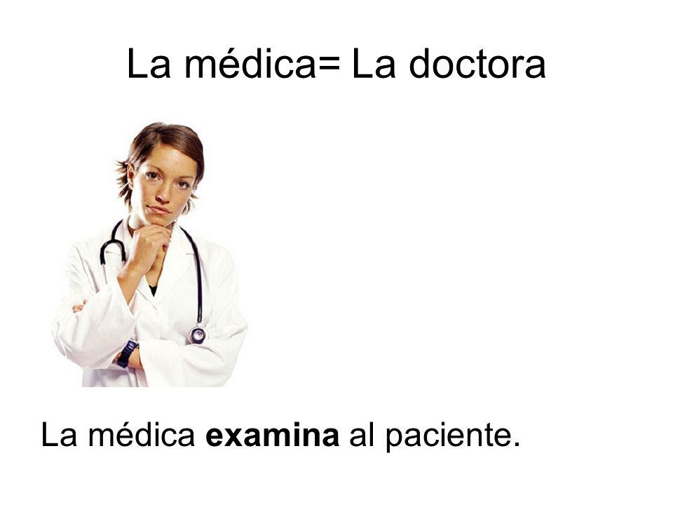 Afines:Cognates El síntoma=______________ La diagnosis=_____________ La alergia=______________ La inyección=____________ La medicina=____________