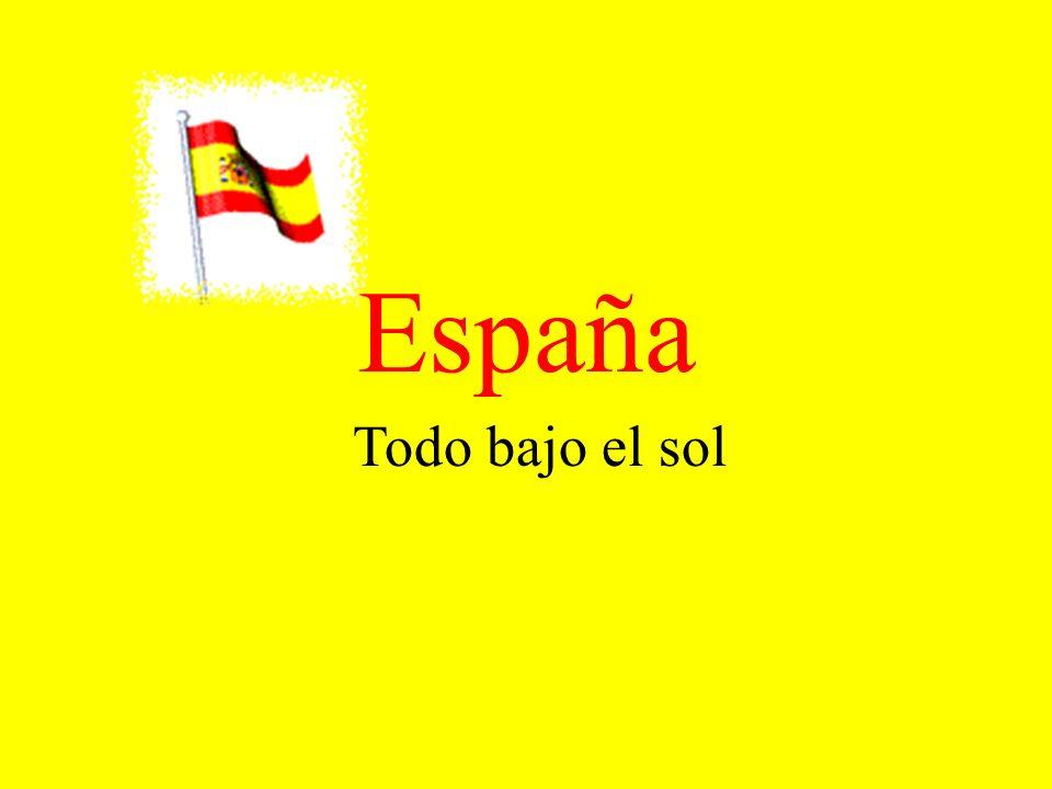España Todo bajo el sol