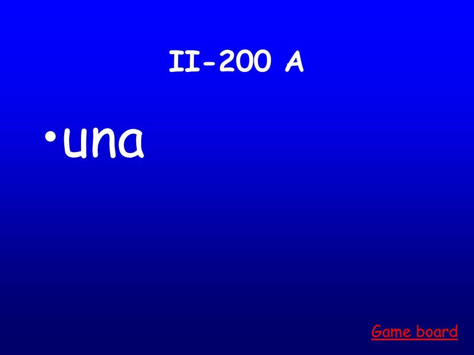 II-100 A un Game board