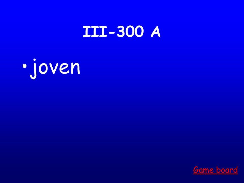 III-200 A simpática Game board